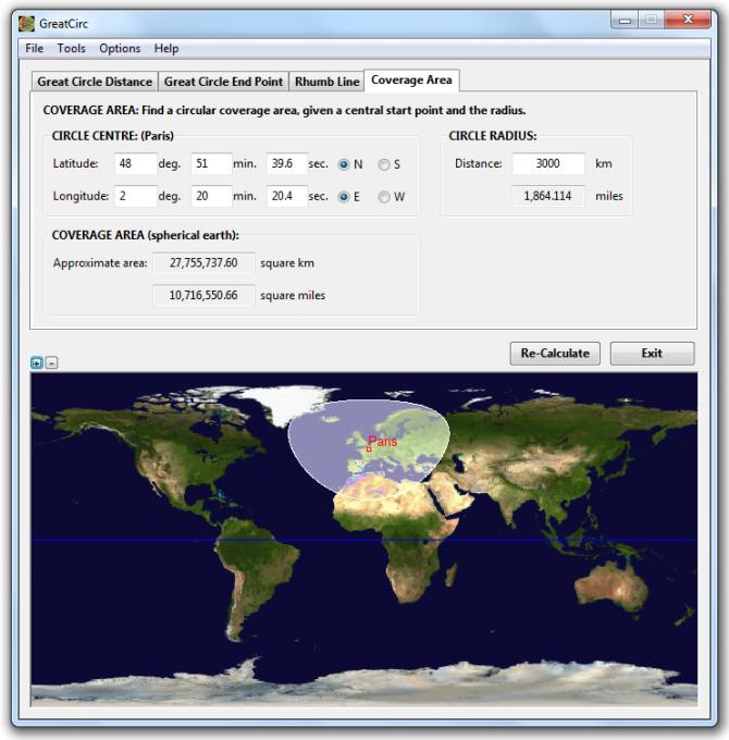 Gunamoi Software, GreatCirc Main Features
