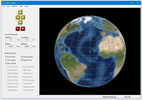 Gunamoi software maplist globe main window and controls gumiabroncs Images